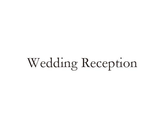 ウェディングスタンプ メッセージ(wedding reception) WD-83