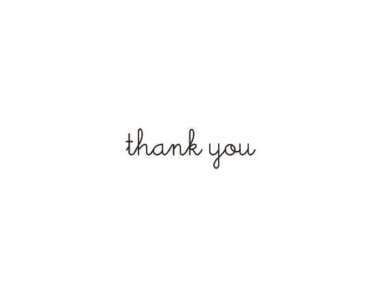 ウェディングスタンプ メッセージ(thank you) WD-88