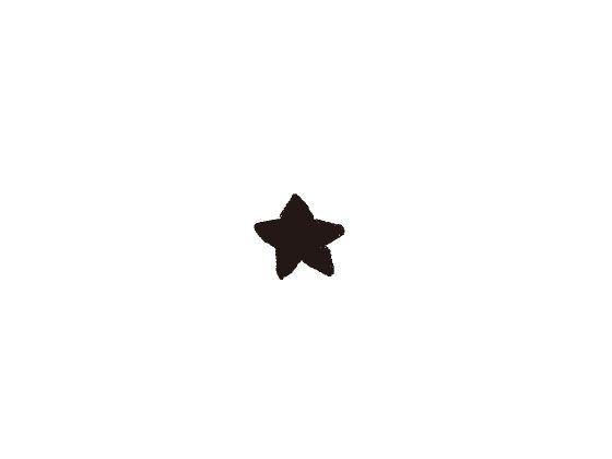 ウェディングスタンプ プチスタンプ 星